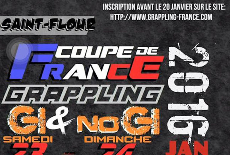 COUPE DE FRANCE GRAPPLING GI ET NO-GI