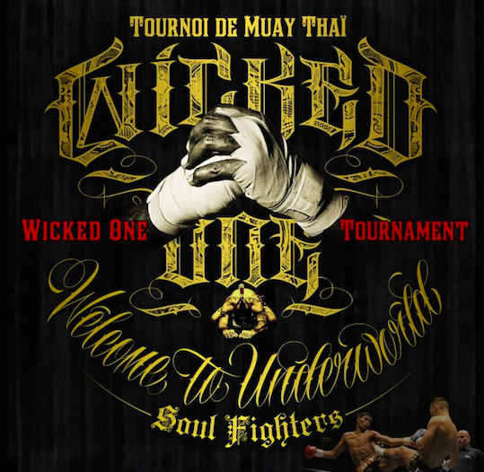 Irvain au « Wicked1 Duel » Muay Thaï