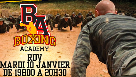 MILITARY BOOT CAMP JANVIER 2017