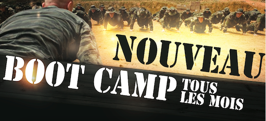 NOUVEAU SCT BOOT CAMP