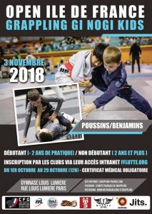 OPEN IDF KIDS - TOURNOI Gi et NoGi @ OPEN KIDS | Paris | Île-de-France | France