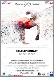 Championnat IDF Pancrace & Submission