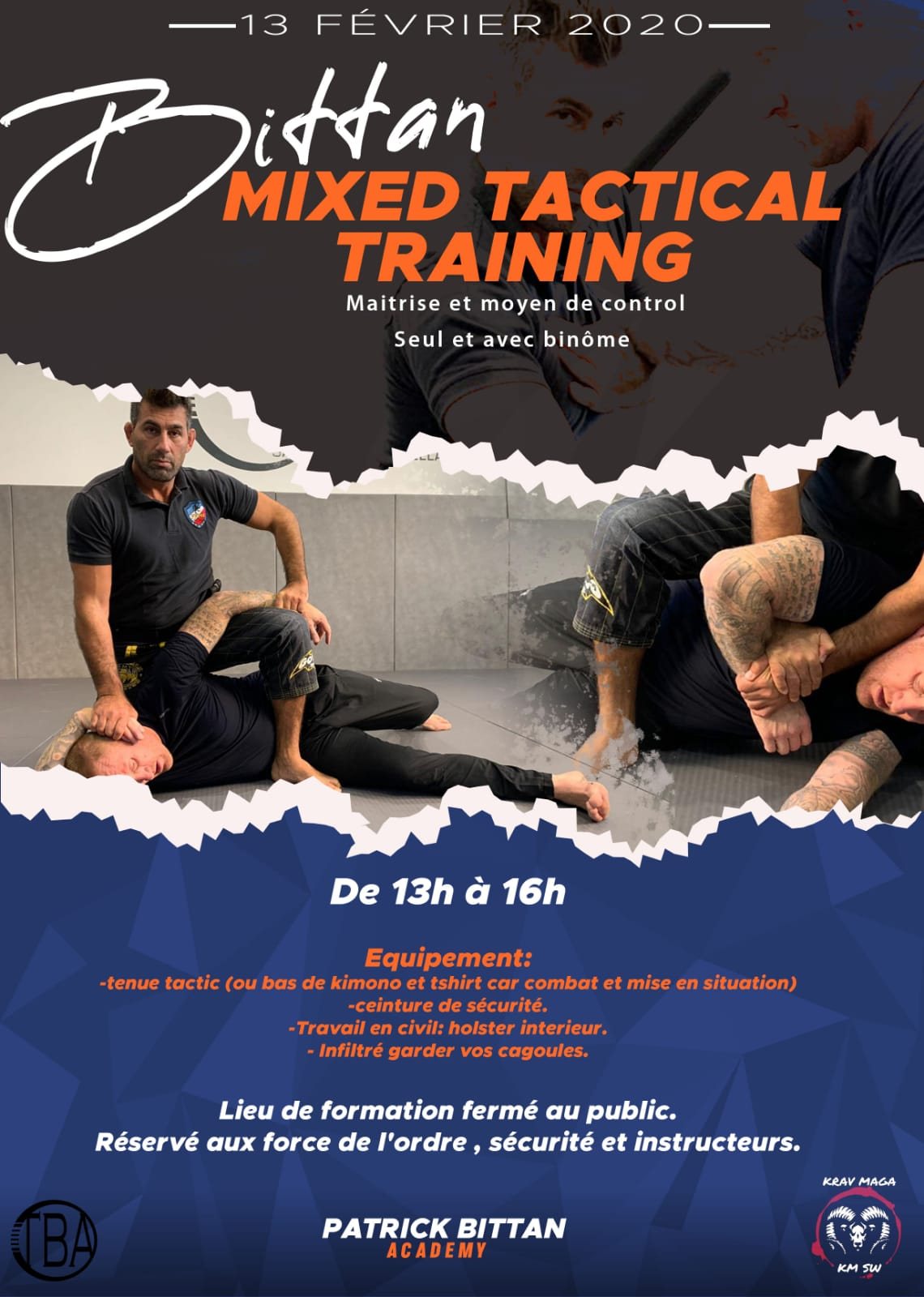 Bittan Mixed Tactical Training Alsace